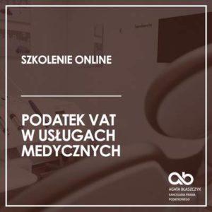 Podatek VAT w usługach medycznych – wersja standard