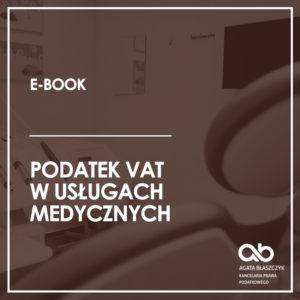 Podatek VAT w usługach medycznych (e-book)
