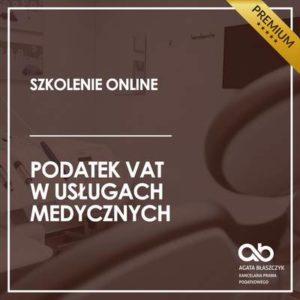 Podatek VAT w usługach medycznych – wersja premium